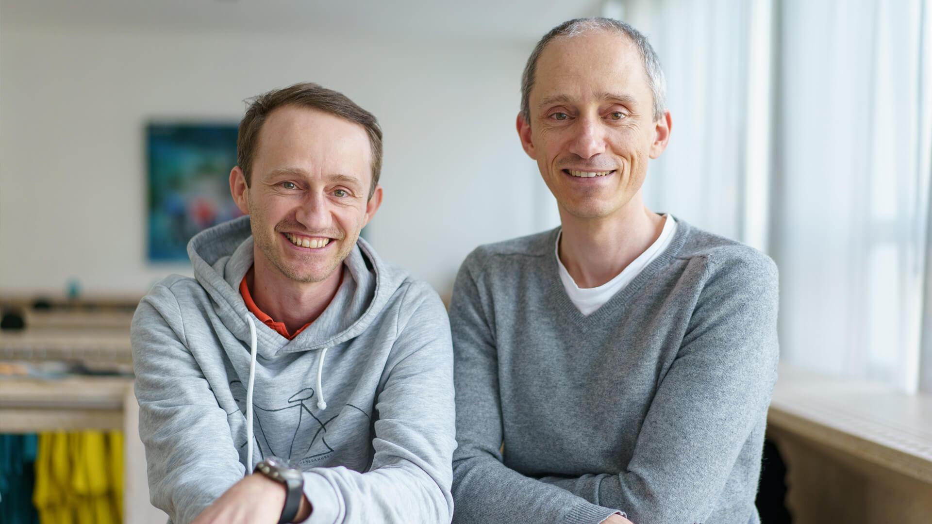 Stephan Wolfer und Andreas Wolfer - everve